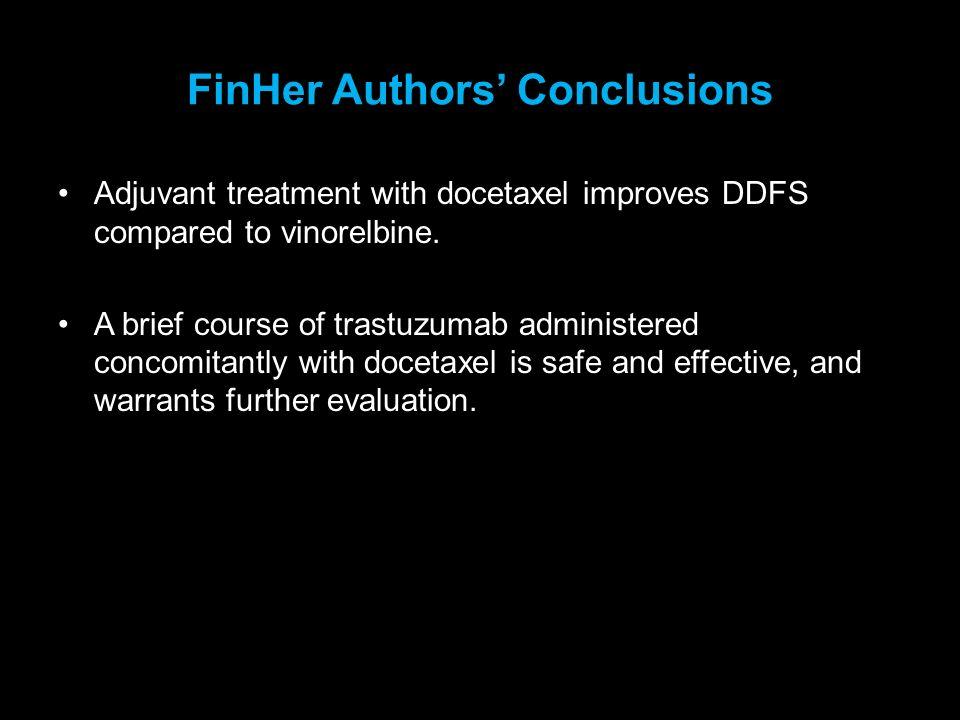 FinHer Authors' Conclusions