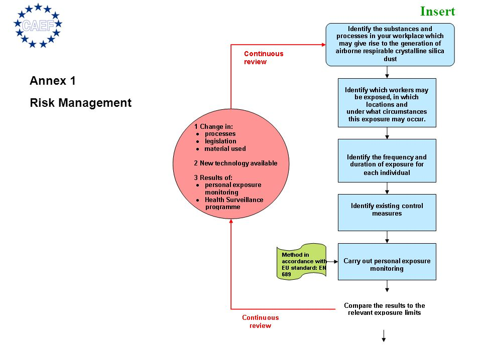 Annex 1 Risk Management.