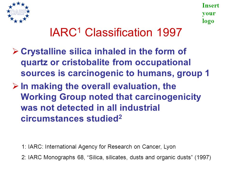 IARC1 Classification 1997