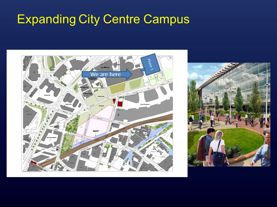 Expanding City Centre Campus