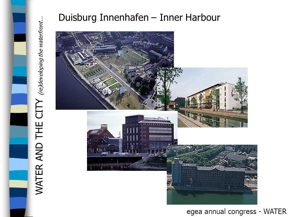 Duisburg Innenhafen – Inner Harbour
