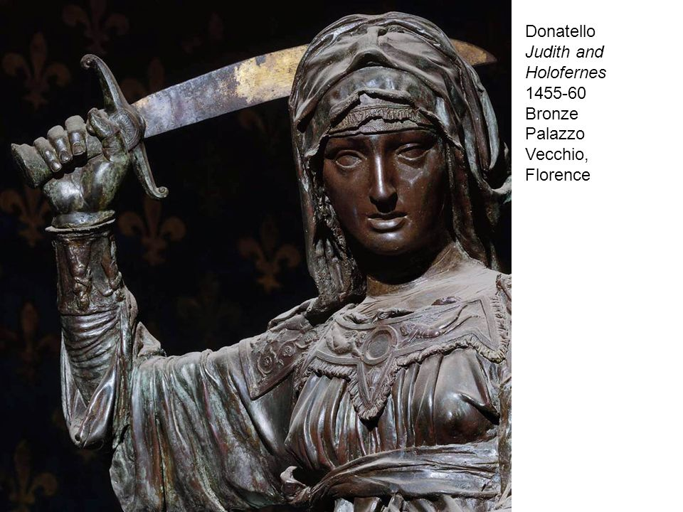 1455-60 Bronze Palazzo Vecchio, Florence