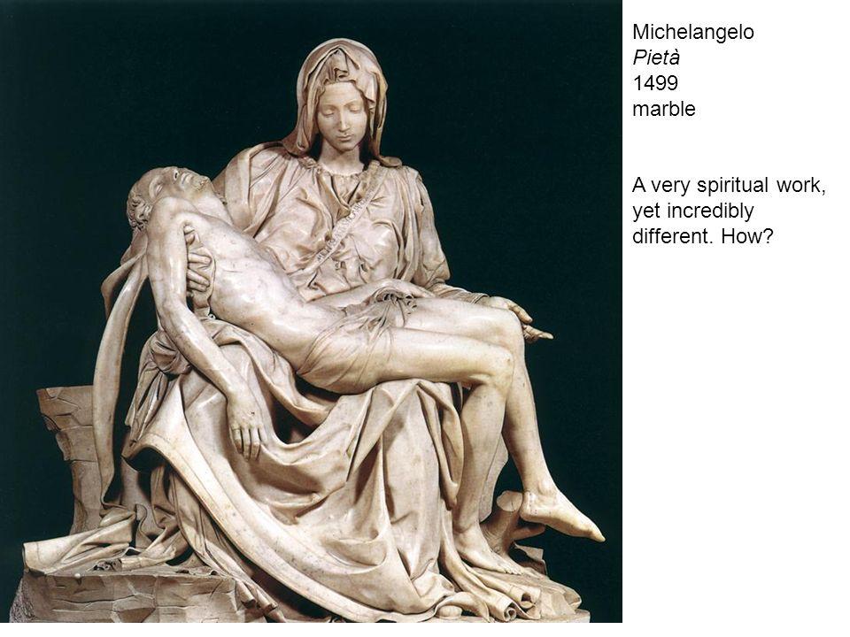 Michelangelo Pietà 1499 marble