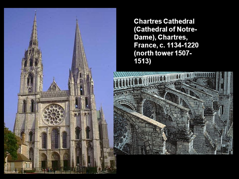 Chartres Cathedral (Cathedral of Notre-Dame), Chartres, France, c