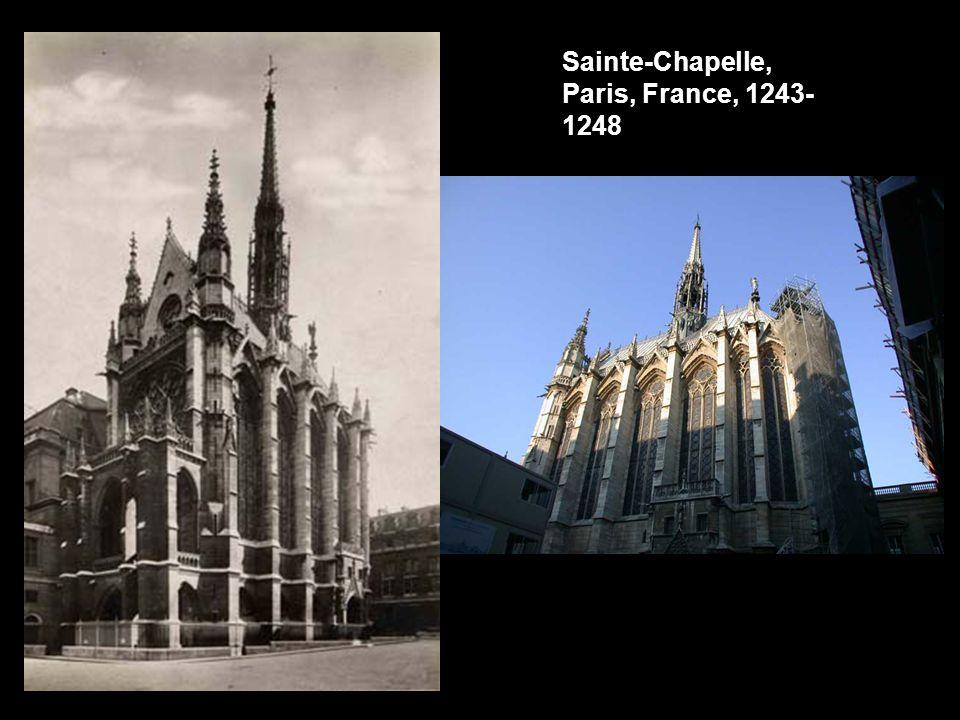 Sainte-Chapelle, Paris, France, 1243-1248