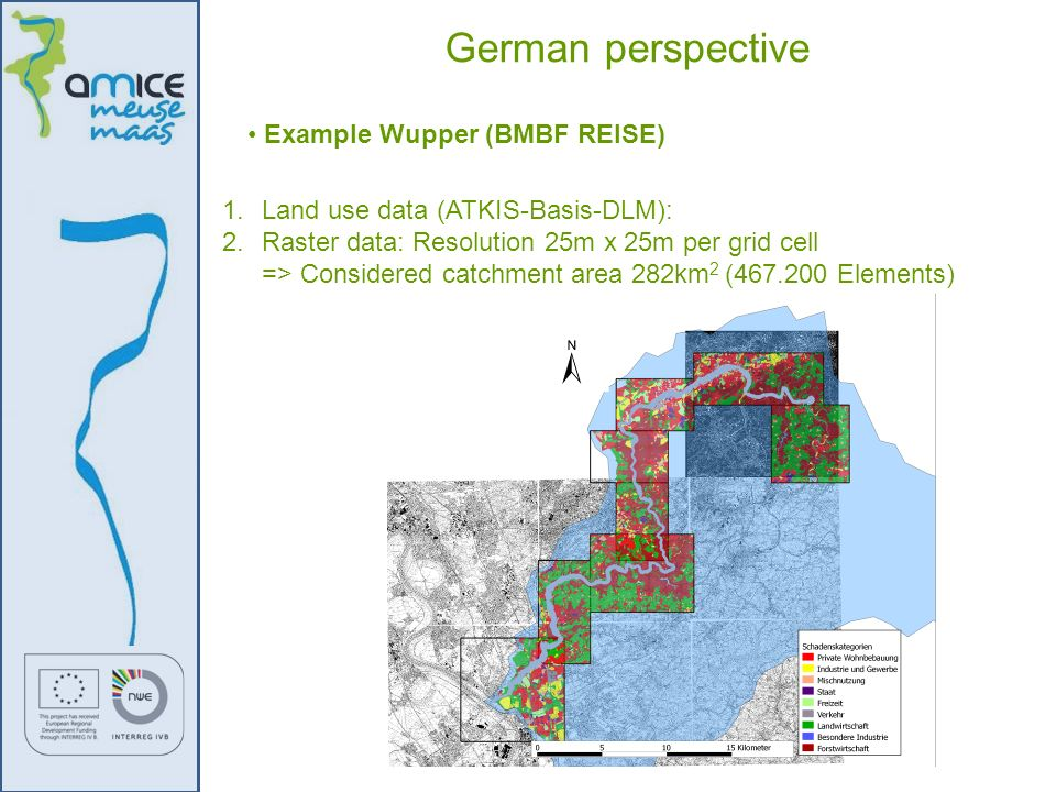 German perspective Example Wupper (BMBF REISE)