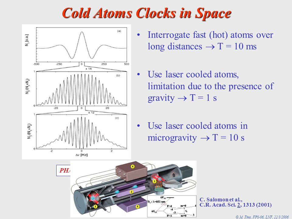 Cold Atoms Clocks in Space