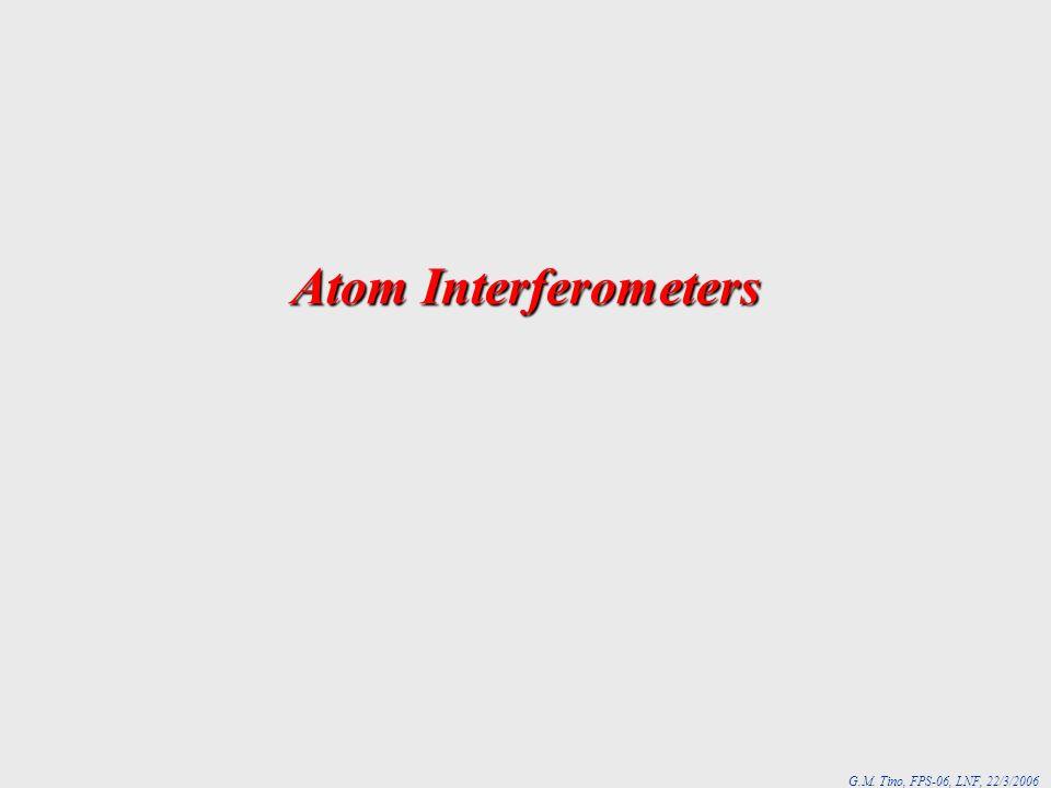 Atom Interferometers