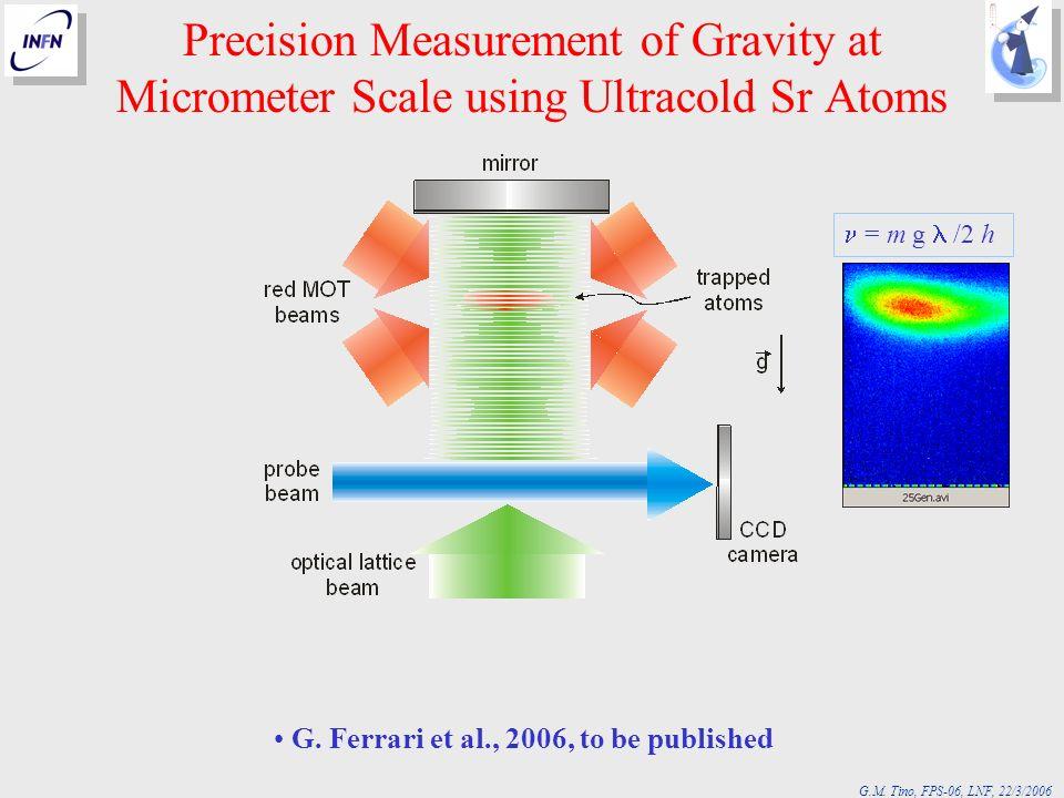 G. Ferrari et al., 2006, to be published