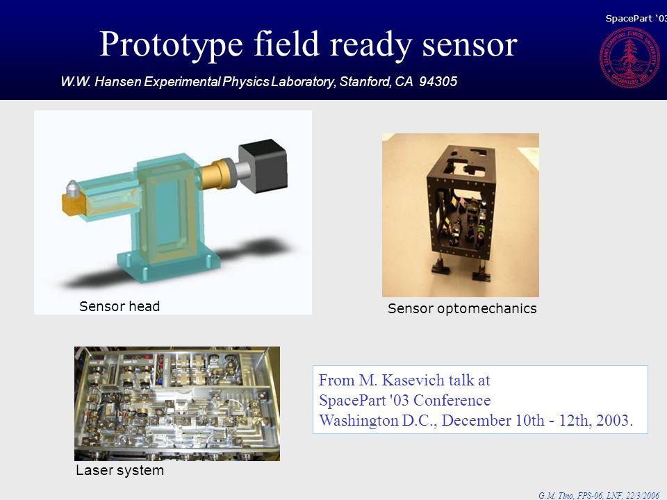 Prototype field ready sensor