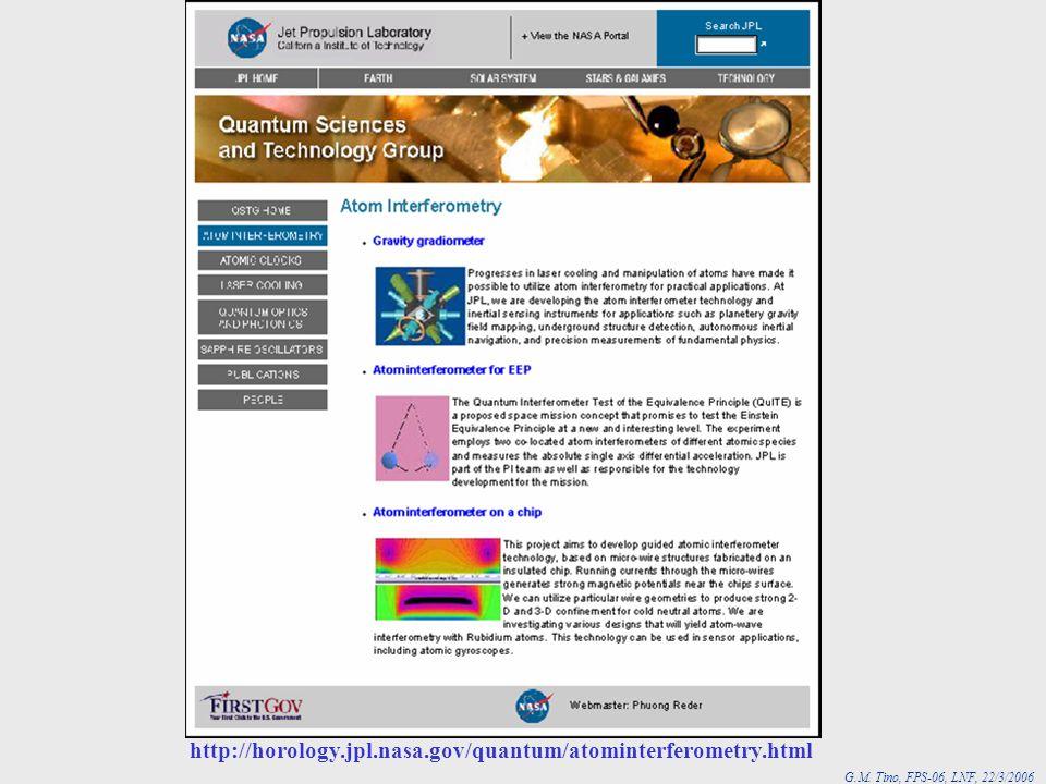 JPL http://horology.jpl.nasa.gov/quantum/atominterferometry.html