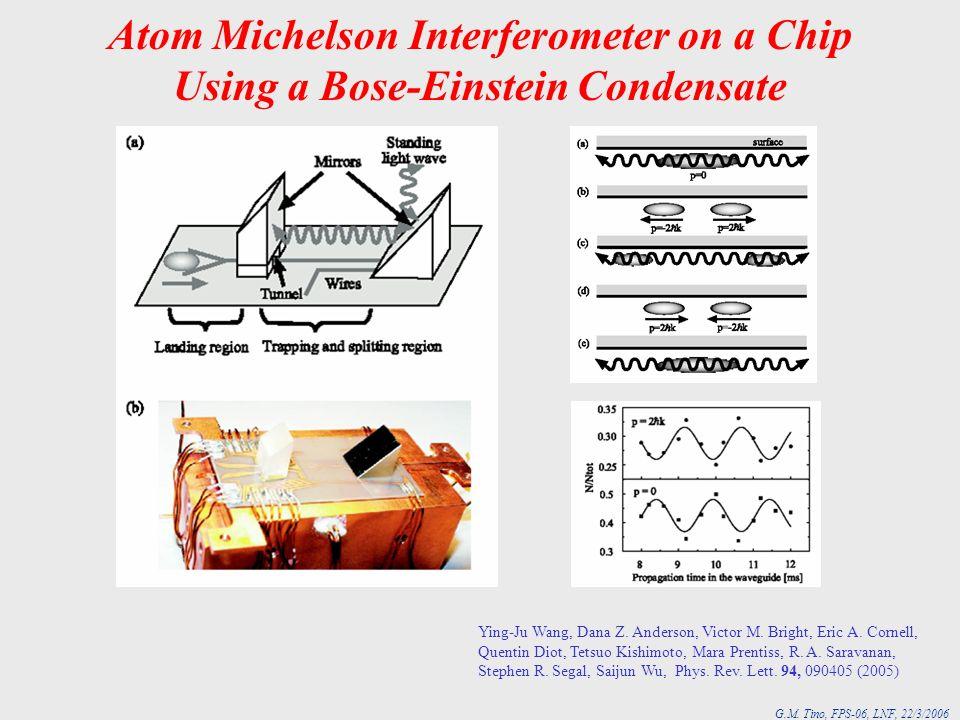 Atom Michelson Interferometer on a Chip Using a Bose-Einstein Condensate