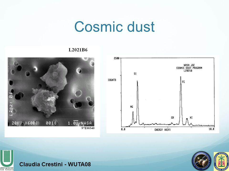 Cosmic dust Claudia Crestini - WUTA08