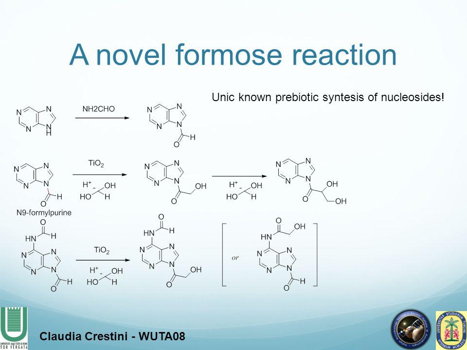 A novel formose reaction