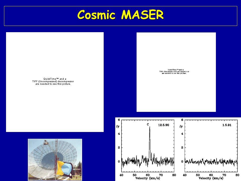 Cosmic MASER