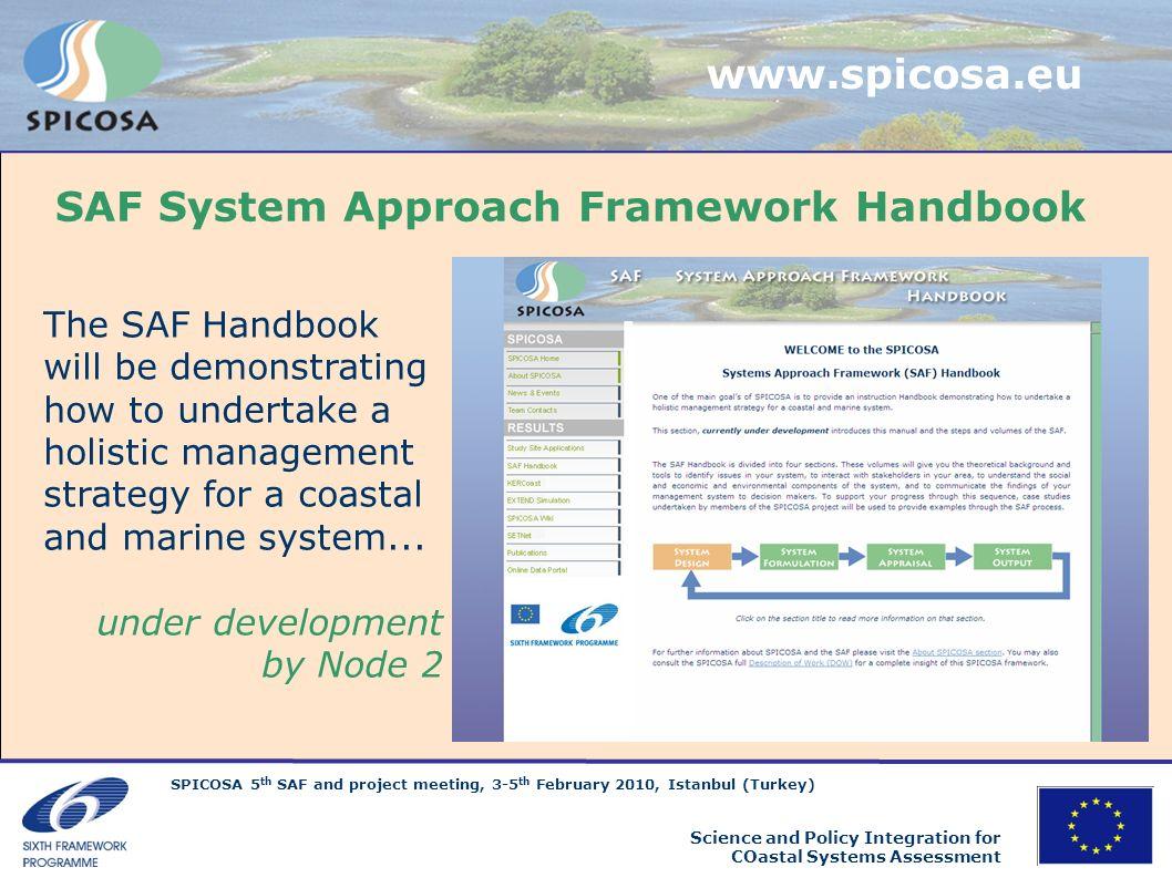 SAF System Approach Framework Handbook