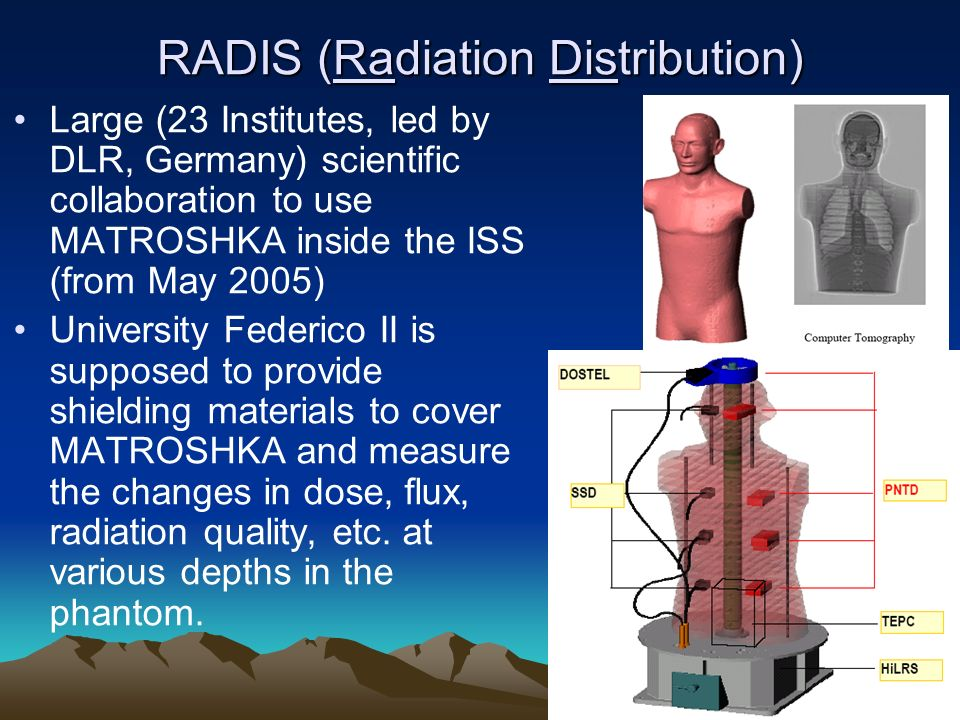 RADIS (Radiation Distribution)