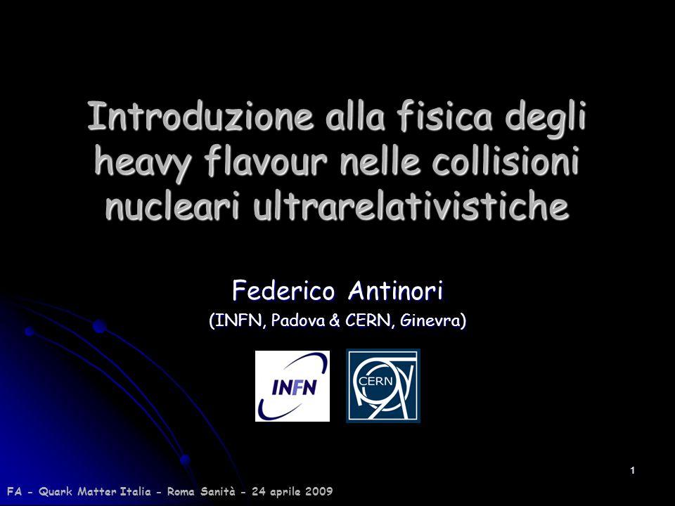 Federico Antinori (INFN, Padova & CERN, Ginevra)