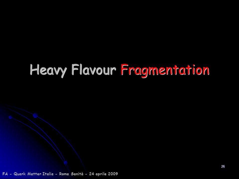 Heavy Flavour Fragmentation