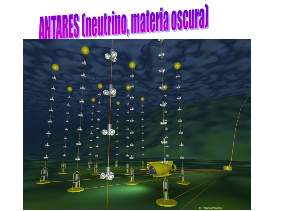 ANTARES (neutrino, materia oscura)