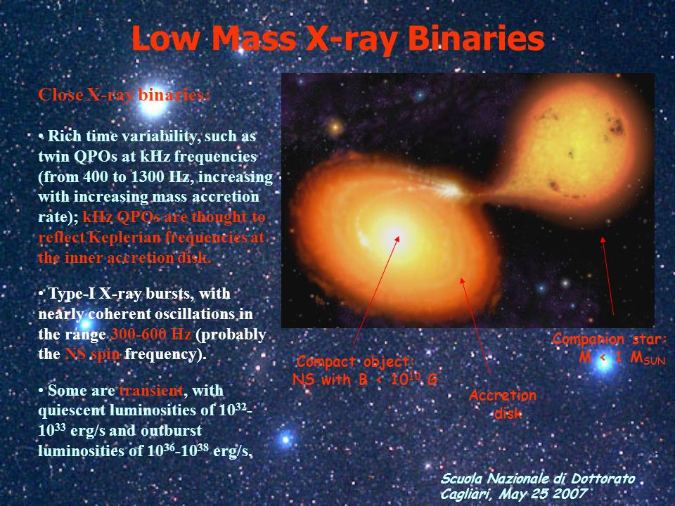 Low Mass X-ray Binaries
