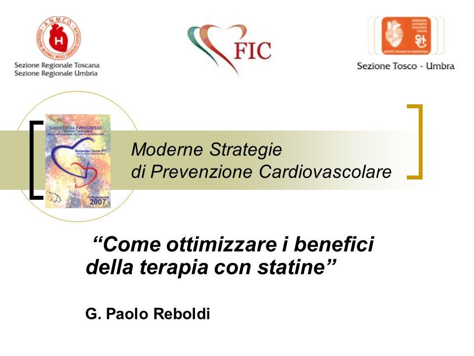 Moderne Strategie di Prevenzione Cardiovascolare