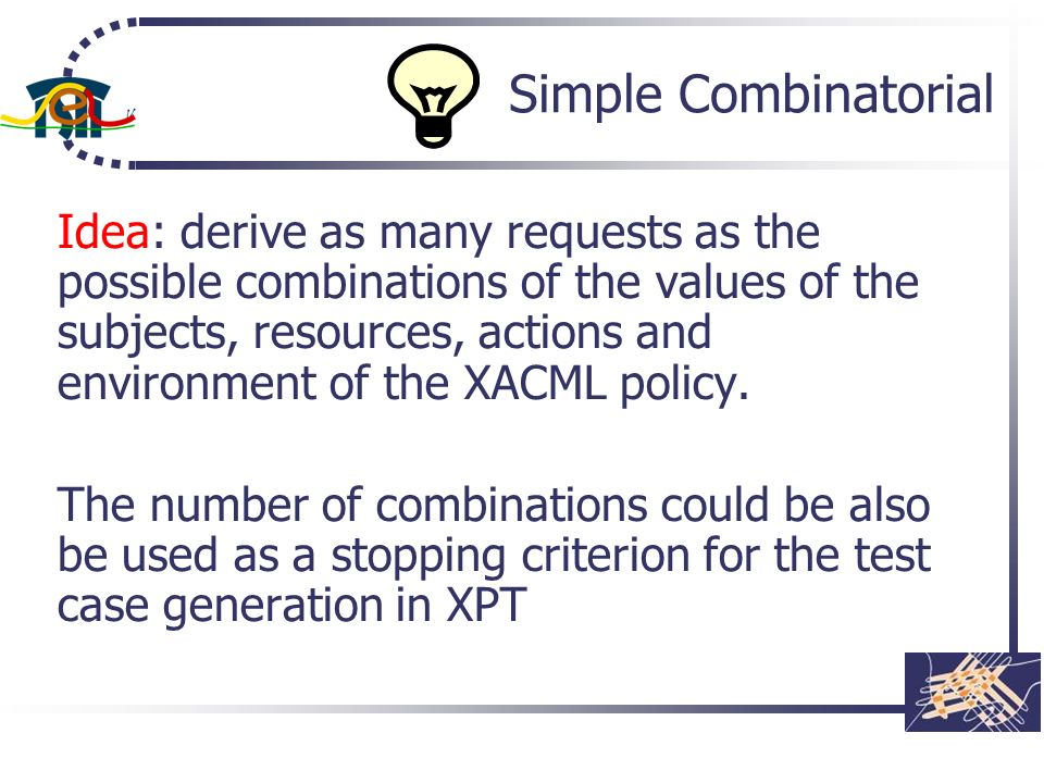 Simple Combinatorial