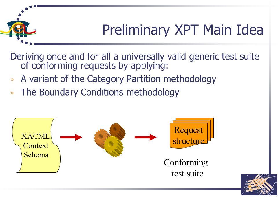 Preliminary XPT Main Idea