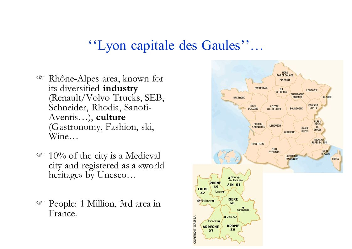 ''Lyon capitale des Gaules''…