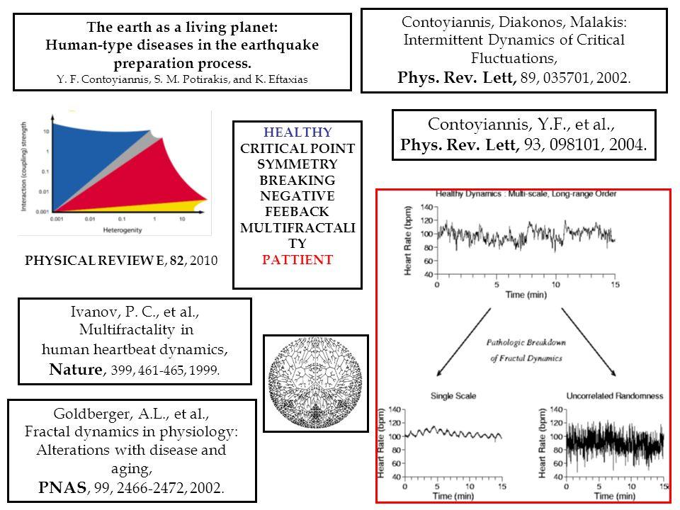 Phys. Rev. Lett, 89, 035701, 2002. Contoyiannis, Y.F., et al.,