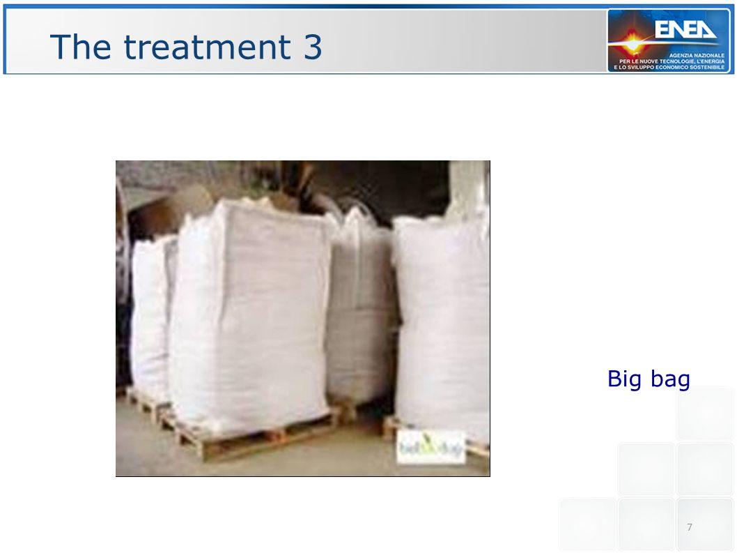 The treatment 3 Big bag