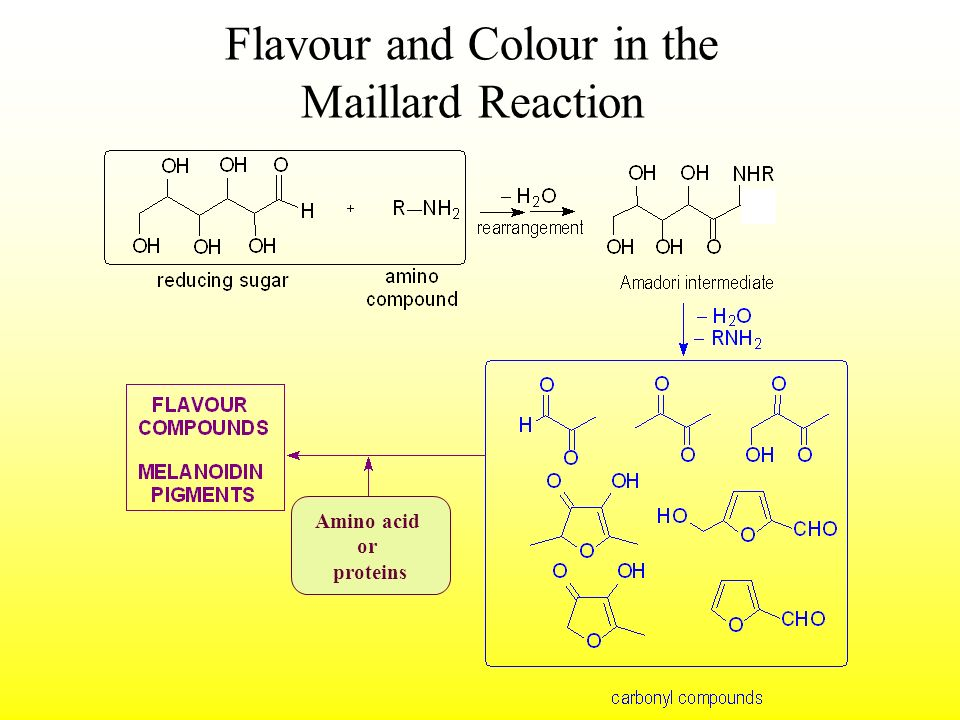 Flavour and Colour in the Maillard Reaction