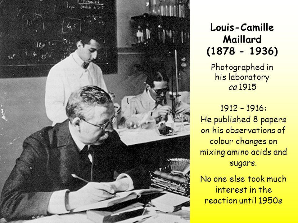 Louis-Camille Maillard (1878 - 1936)