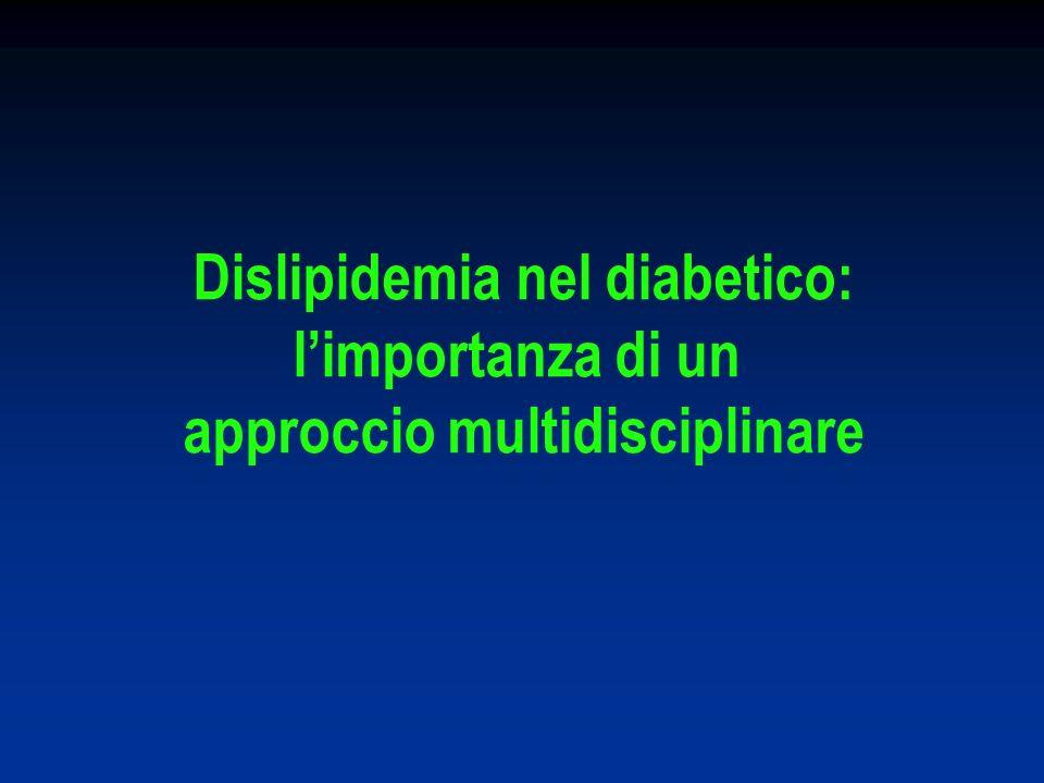 Dislipidemia nel diabetico: approccio multidisciplinare