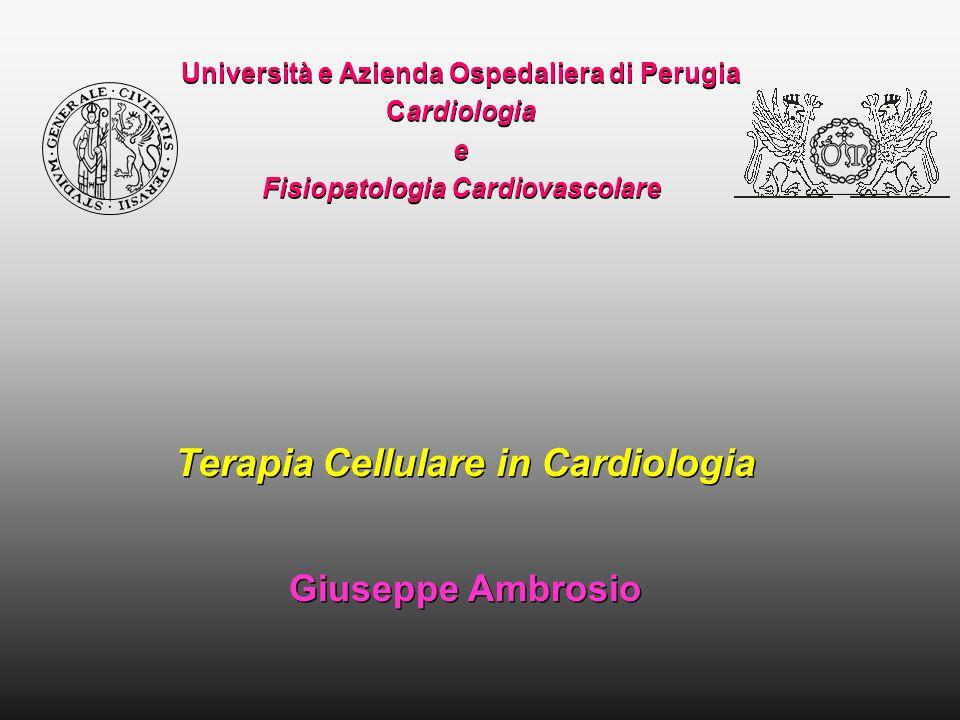 Terapia Cellulare in Cardiologia