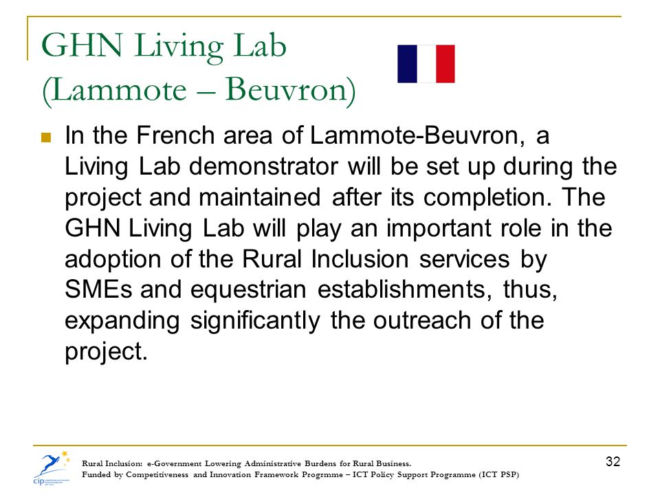 GHN Living Lab (Lammote – Beuvron)