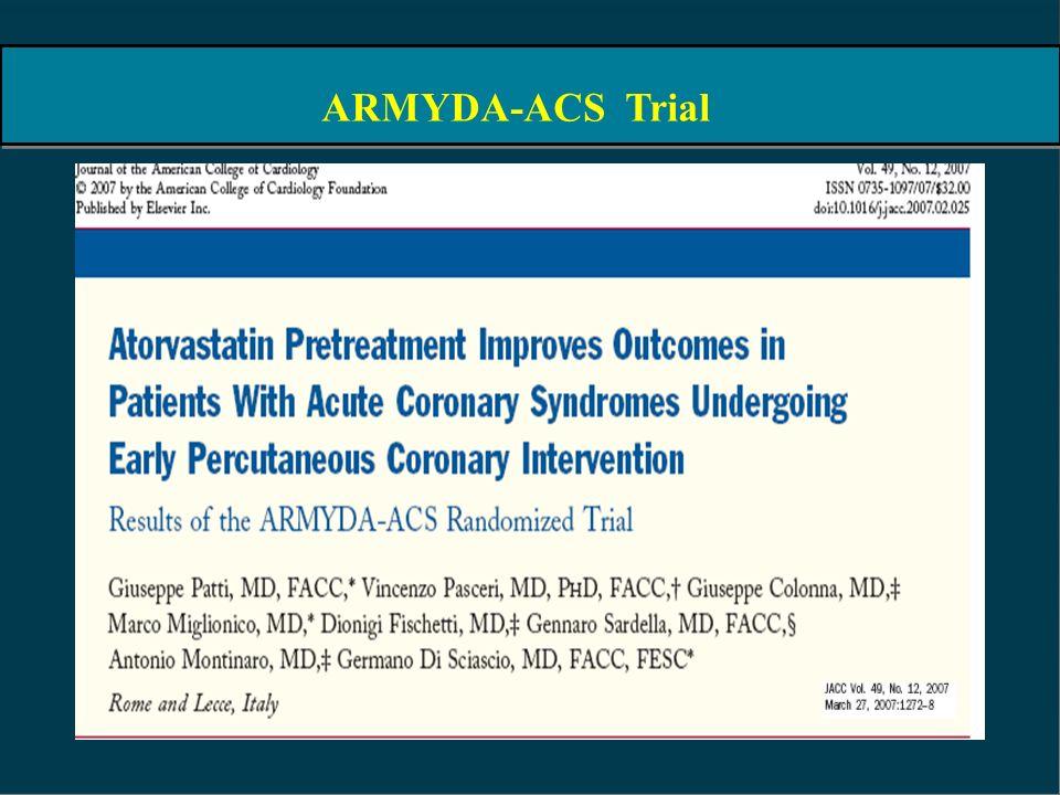 ARMYDA-ACS Trial