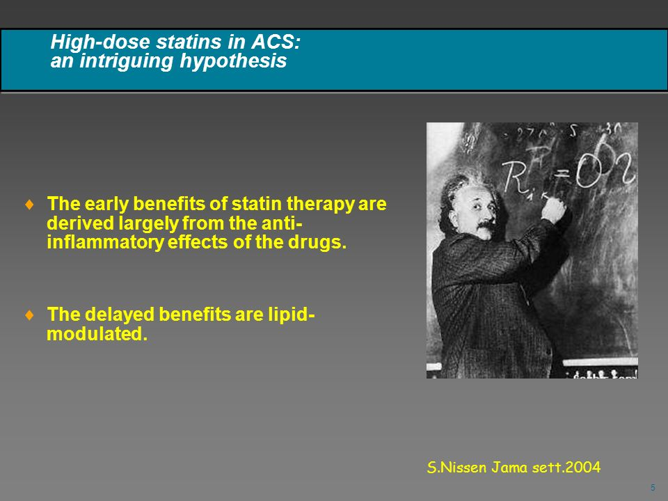 High-dose statins in ACS: an intriguing hypothesis