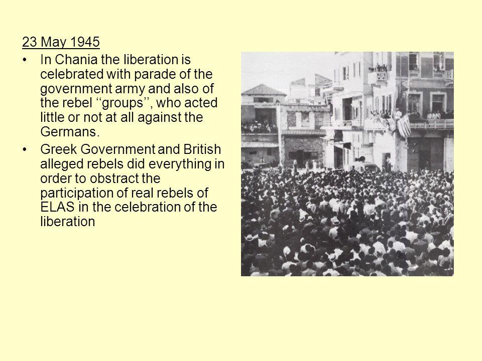 23 Μay 1945