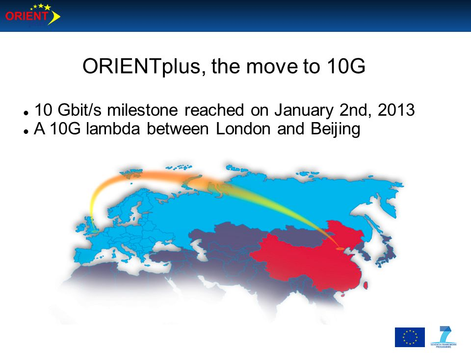 ORIENTplus, the move to 10G