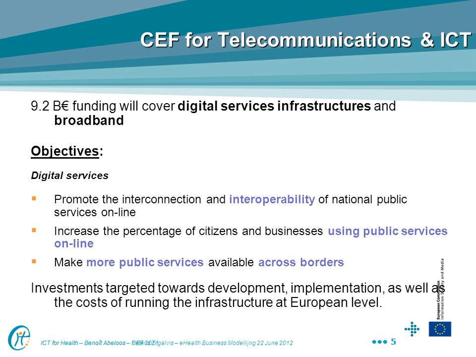 CEF for Telecommunications & ICT