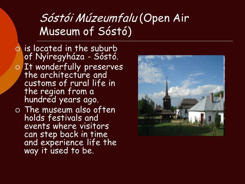 Sóstói Múzeumfalu (Open Air Museum of Sóstó)