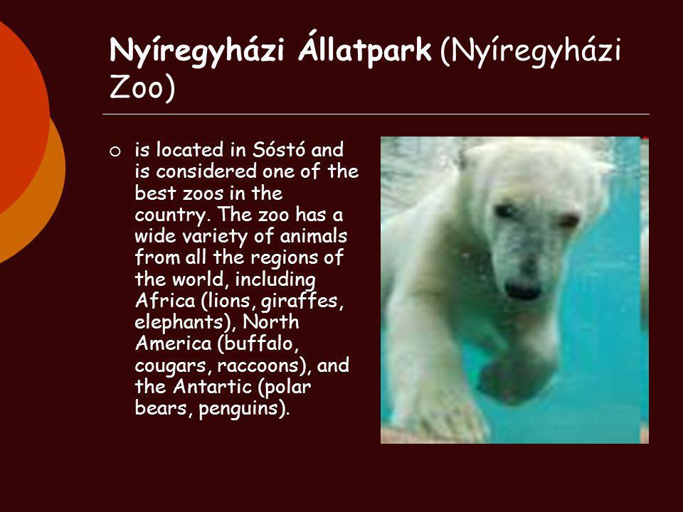 Nyíregyházi Állatpark (Nyíregyházi Zoo)