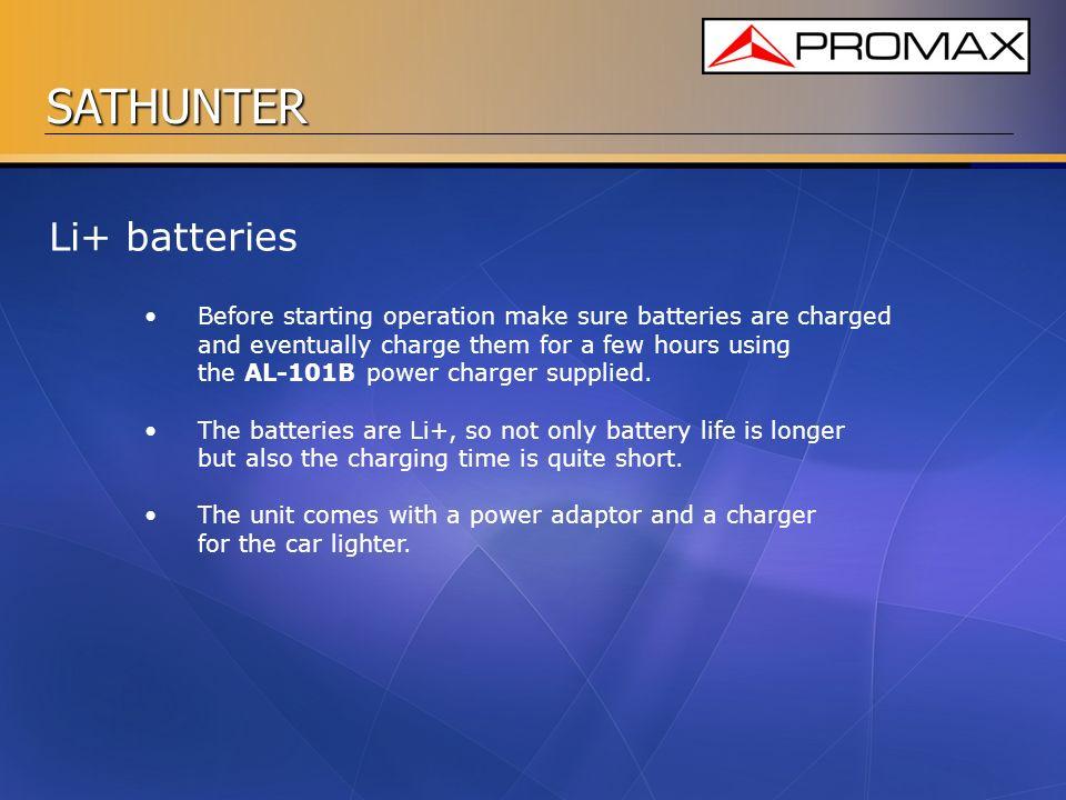 Li+ batteries