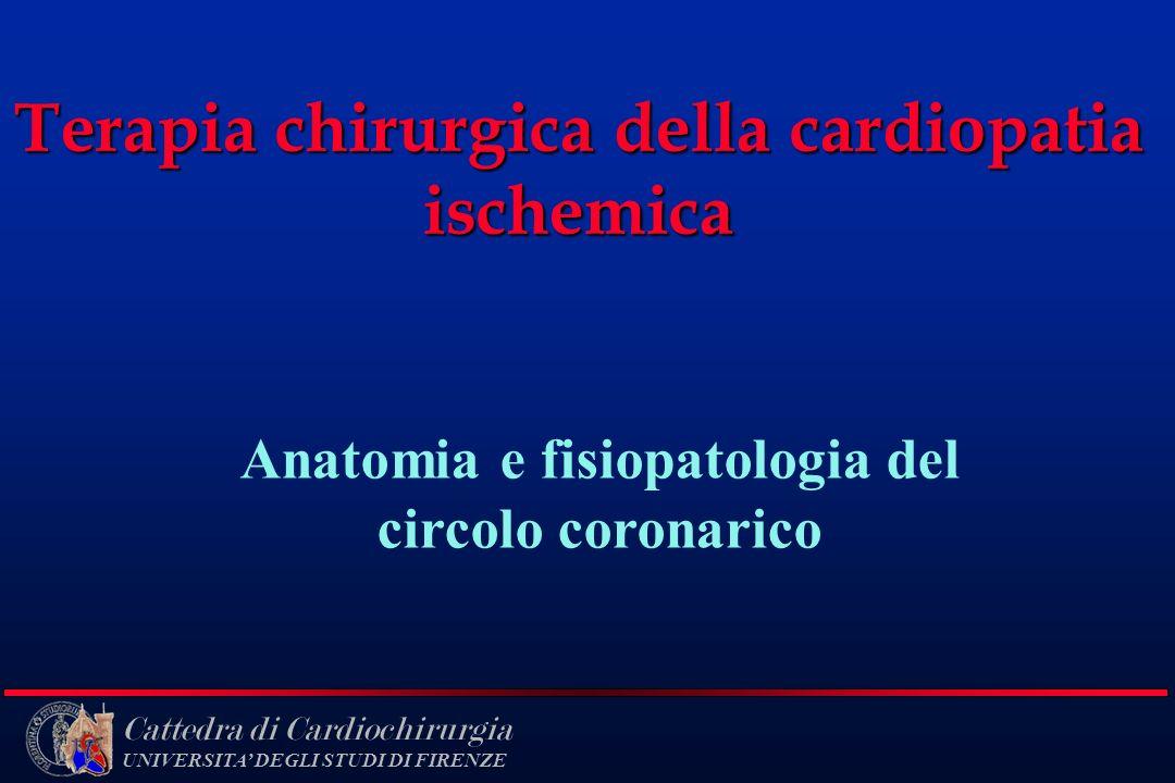 Terapia chirurgica della cardiopatia ischemica