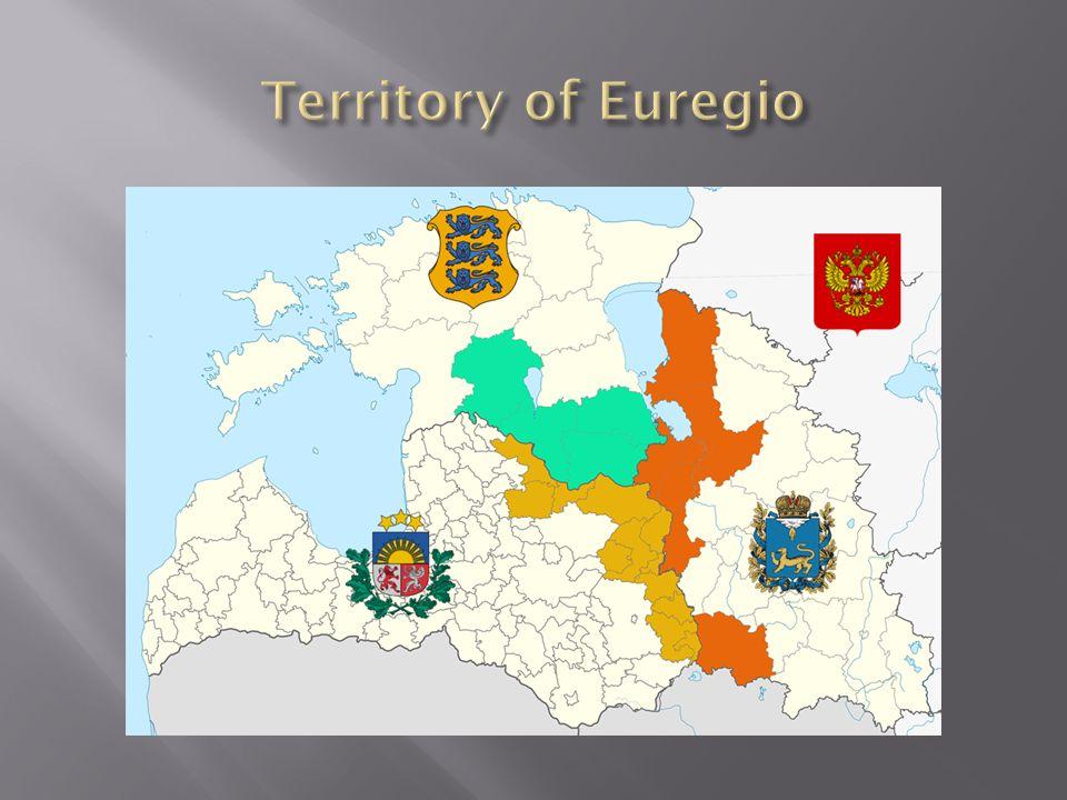 Territory of Euregio