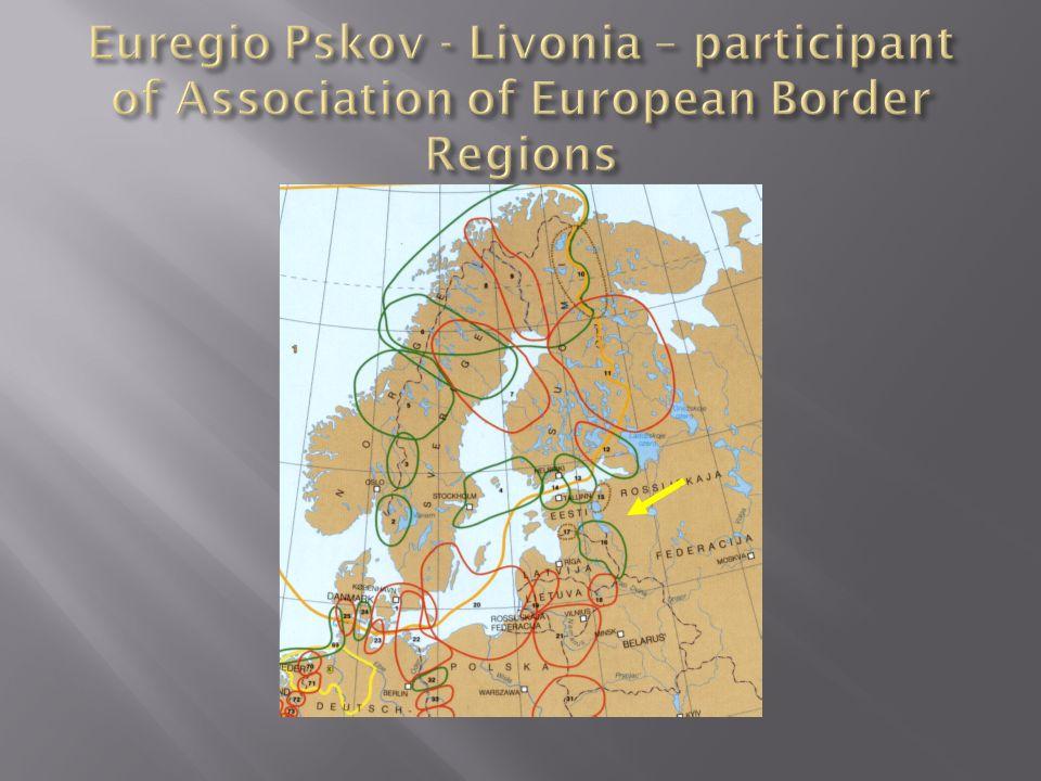 Euregio Pskov - Livonia – participant of Association of European Border Regions