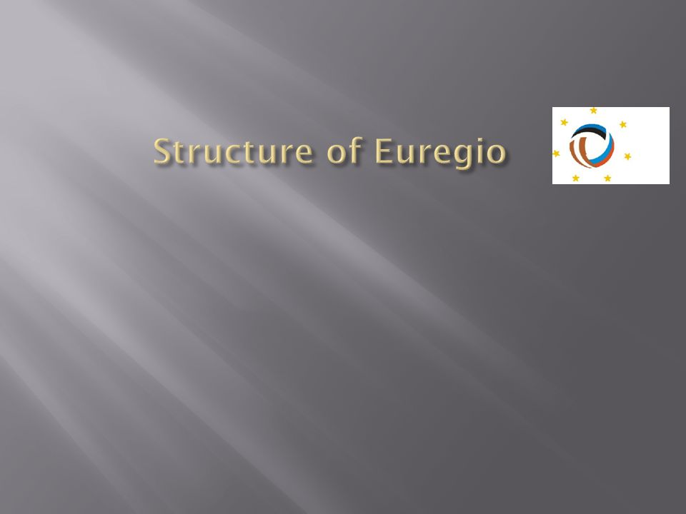 Structure of Euregio