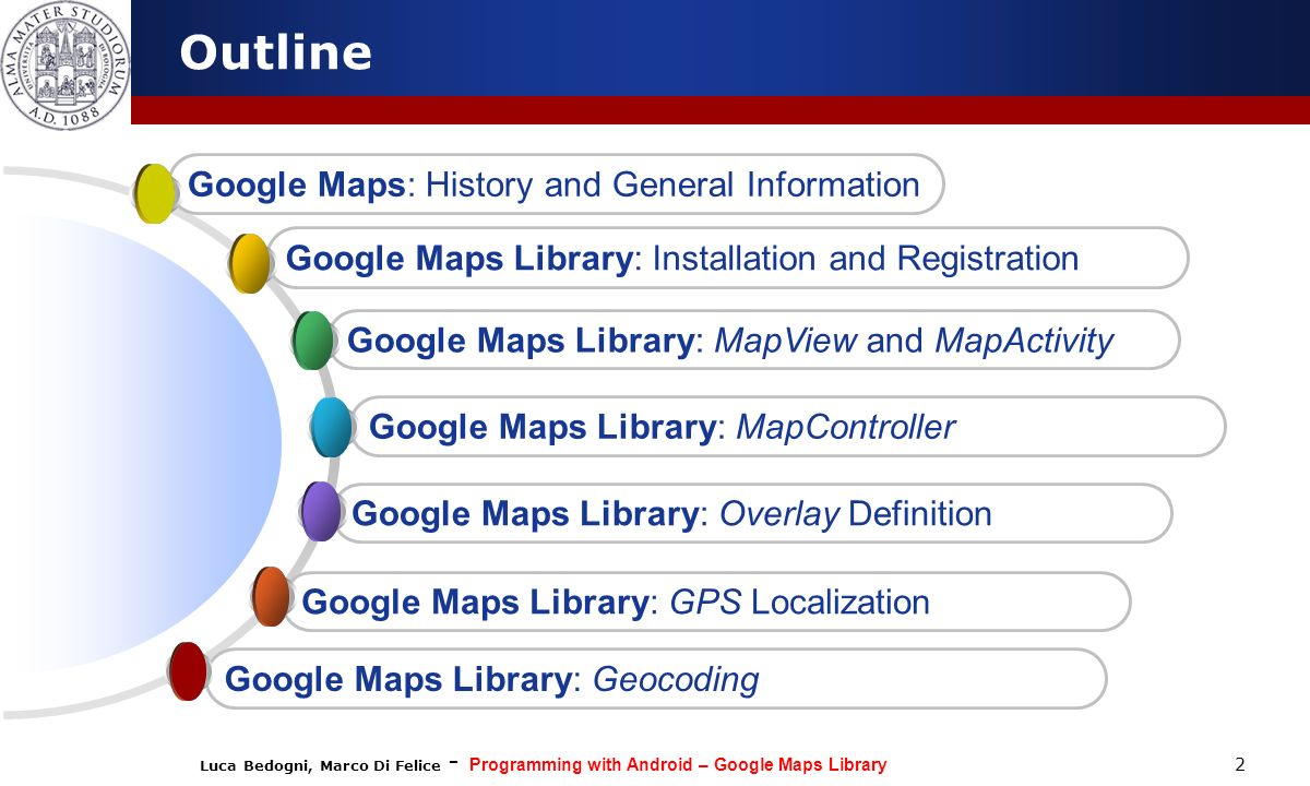 Outline Google Maps: History and General Information