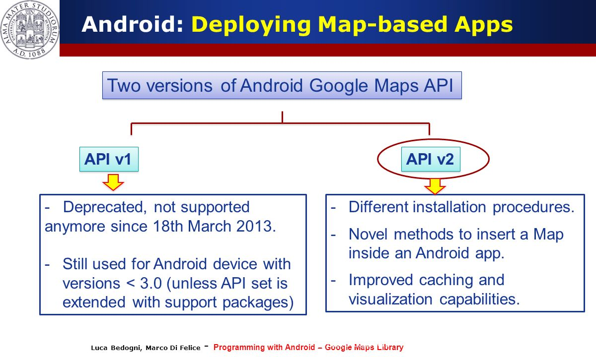 Android: Deploying Map-based Apps